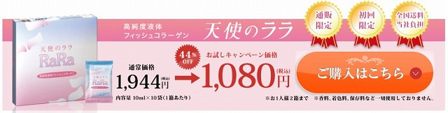 天使のララの公式サイトの価格